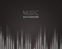 Muziekequaliser Royalty-vrije Stock Foto