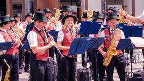 Muziekfestival in Wenen, Oostenrijk royalty-vrije stock afbeeldingen