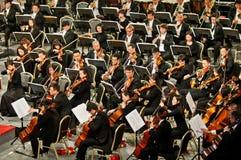 Muziekgroep het spelen Royalty-vrije Stock Afbeelding