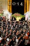 Muziekgroep het spelen Royalty-vrije Stock Fotografie