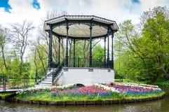 Muziekkapel in het park Vondelpark Amsterdam Stock Image