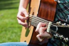 Muziekkunstenaar stock foto's