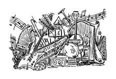 Muziekmengeling Royalty-vrije Stock Fotografie