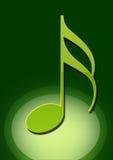 Muzieknoot Stock Afbeeldingen