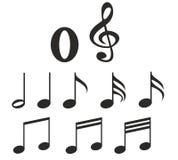 Muzieknota's Royalty-vrije Stock Afbeelding