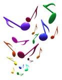 Muzieknoten Royalty-vrije Stock Afbeelding