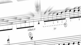 Muziekomwenteling stock video