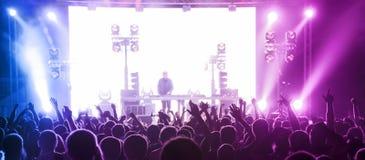Muziekpartij Stock Foto