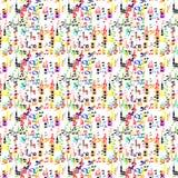 Muziekpatroon Royalty-vrije Stock Afbeelding
