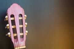 Muziekschool van gitaar voor kinderen Stock Afbeelding
