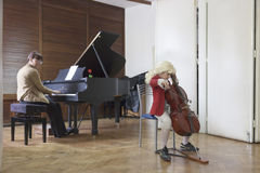 Muziekstudent Royalty-vrije Stock Afbeeldingen