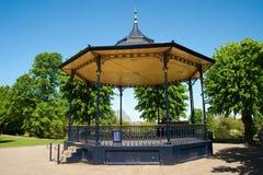 Muziektent in het park Stock Afbeelding