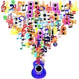 Muziektijd Royalty-vrije Stock Fotografie