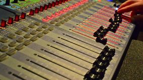 Muziekverslagen stock footage