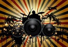 Muzikaal stock illustratie