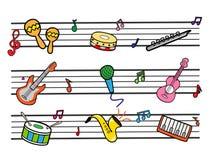 Muzikaal Stock Foto's