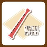 Muzikaal instrument royalty-vrije illustratie