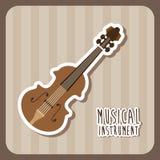 Muzikaal instrument stock illustratie
