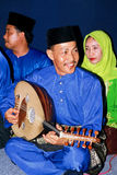 Muzikaal Instrument Gambus Stock Foto's