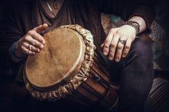 Muzikaal instrument jembe royalty-vrije stock foto