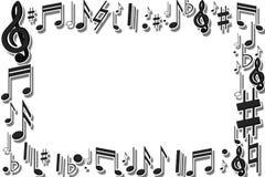Muzikaal kader Royalty-vrije Stock Foto's