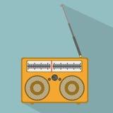 Muzikaal ontwerp royalty-vrije illustratie