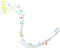 Muzikaal ontwerp Stock Fotografie