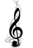 Muzikaal ontwerp Royalty-vrije Stock Afbeeldingen