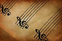 Muzikaal Personeel stock afbeeldingen