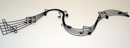 Muzikaal personeel Royalty-vrije Stock Afbeelding