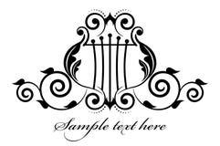 Muzikaal pictogram royalty-vrije illustratie
