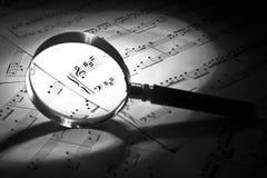 muzikaal stilleven Stock Foto's