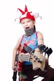 Muzikaal talent Royalty-vrije Stock Foto