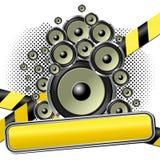 Muzikaal thema vector illustratie