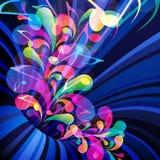Muzikaal thema. vector illustratie