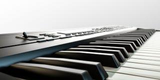 Muzikaal toetsenbord vector illustratie