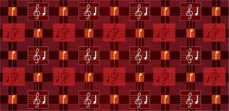 Muzikale abstracte illustratie Stock Afbeelding