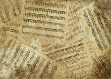 Muzikale achtergrond royalty-vrije stock afbeelding
