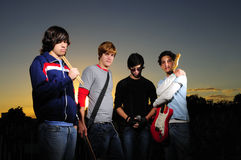 Muzikale band Royalty-vrije Stock Fotografie