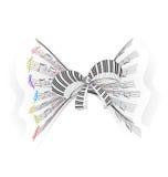 Muzikale boog vector illustratie