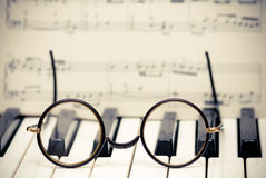 Muzikale inspiratie royalty-vrije stock afbeelding