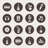 Muzikale instrumenten royalty-vrije illustratie