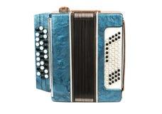 Muzikale instrumenten bayan harmonika stock fotografie