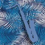 Muzikale Instrumentensaxofoon die Jazz Music Direction speelt Ve royalty-vrije illustratie
