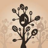 Muzikale lepel vector illustratie