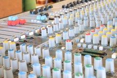 Muzikale mixer Stock Foto's