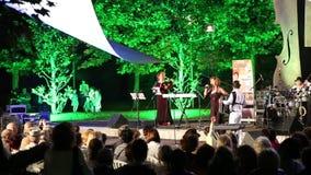 Muzikale overwegings Joodse tradities stock footage