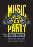 Muzikale partij stock illustratie