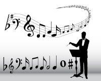 Muzikale samenstelling Royalty-vrije Stock Foto's