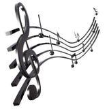Muzikale Score Stock Illustratie